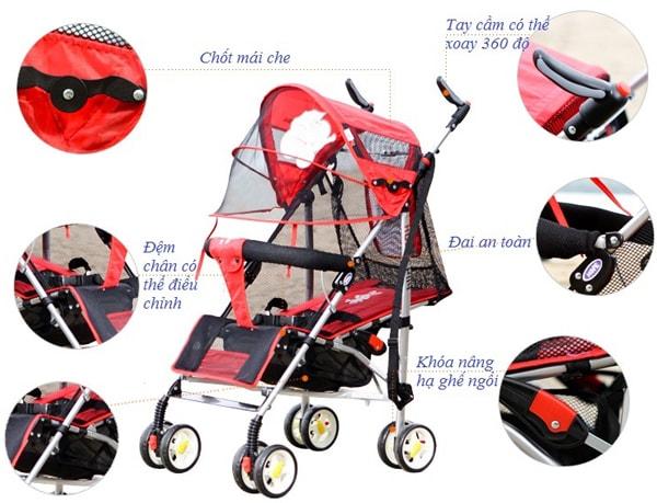 Lời khuyên khi chọn xe đẩy cho con 5
