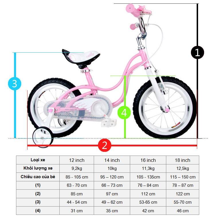Kinh nghiệm chọn mua xe đạp cho bé 1