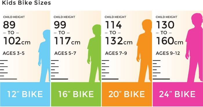 Kinh nghiệm chọn mua xe đạp cho bé 5