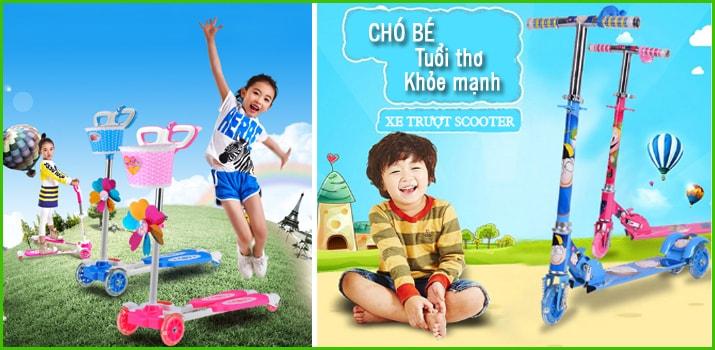 Những câu hỏi thường gặp về xe trượt Scooter cho bé 1