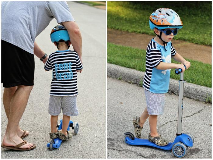 Những câu hỏi thường gặp về xe trượt Scooter cho bé 8