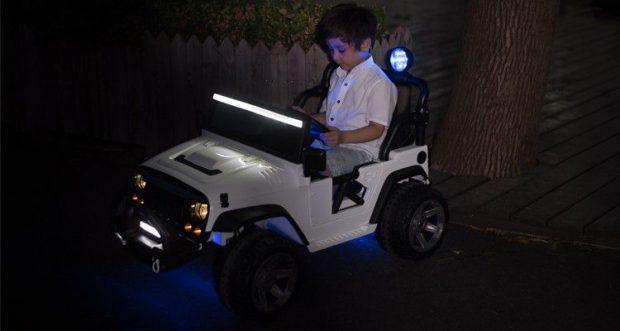 Xe ô tô điện trẻ em Jeep SX-1718