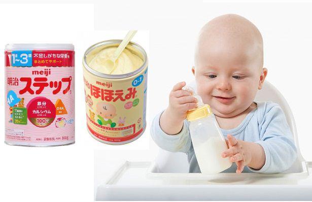Sữa Meiji - cho trẻ từ 0 đến 6 tháng tuổi