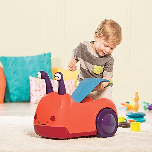 Bí mật về cách lựa chọn xe chòi chân cho bé
