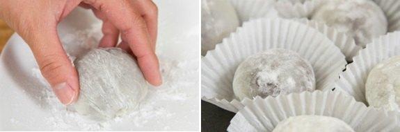 Nguyên liệu làm bánh mochi