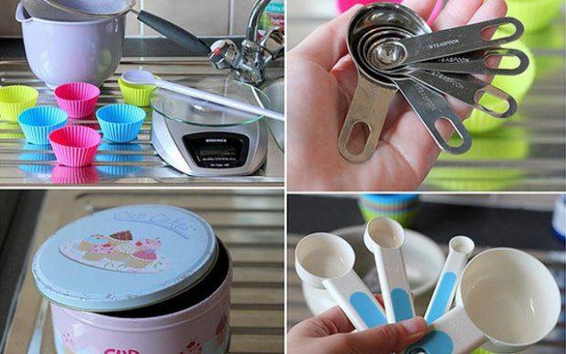 Dung cụ hỗ trợ trong quá trình làm bánh trung thu bánh ngọt