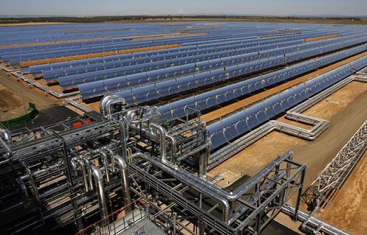 Nhà máy năng lượng điện mặt trời trên thế giới