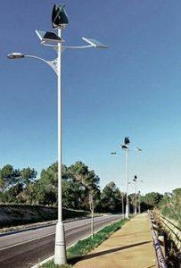 Đèn led năng lượng có điều khiển từ xa