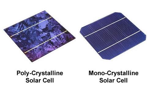 Tế bào quang điện đơn tinh thể và đa tinh thể