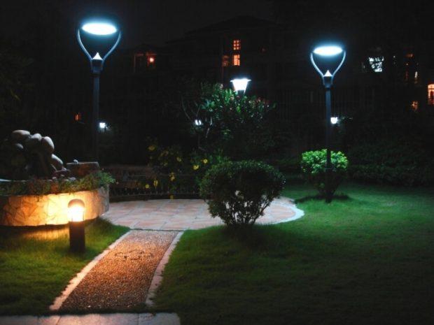 Điều kiện tốt để đèn năng lượng mặt trời hoạt động