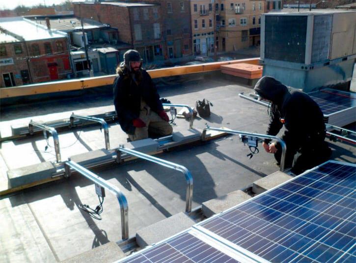 Cách lắp đặt hệ thống năng lượng