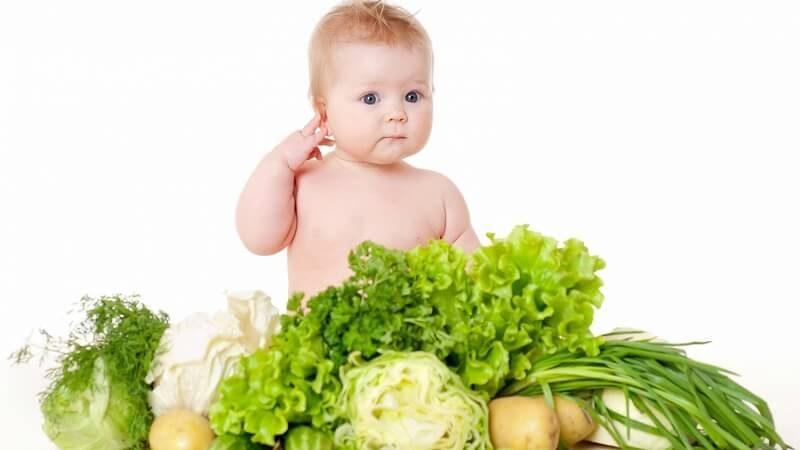 các loại rau tốt cho bé ăn dặm