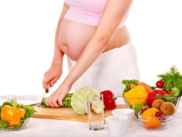 Chế độ ăn cho bà bầu tháng thứ 7