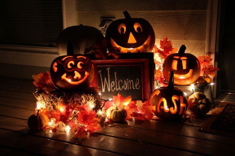 đèn trang trí lế hội hallowen