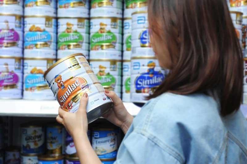 sữa cho bé suy dinh dưỡng