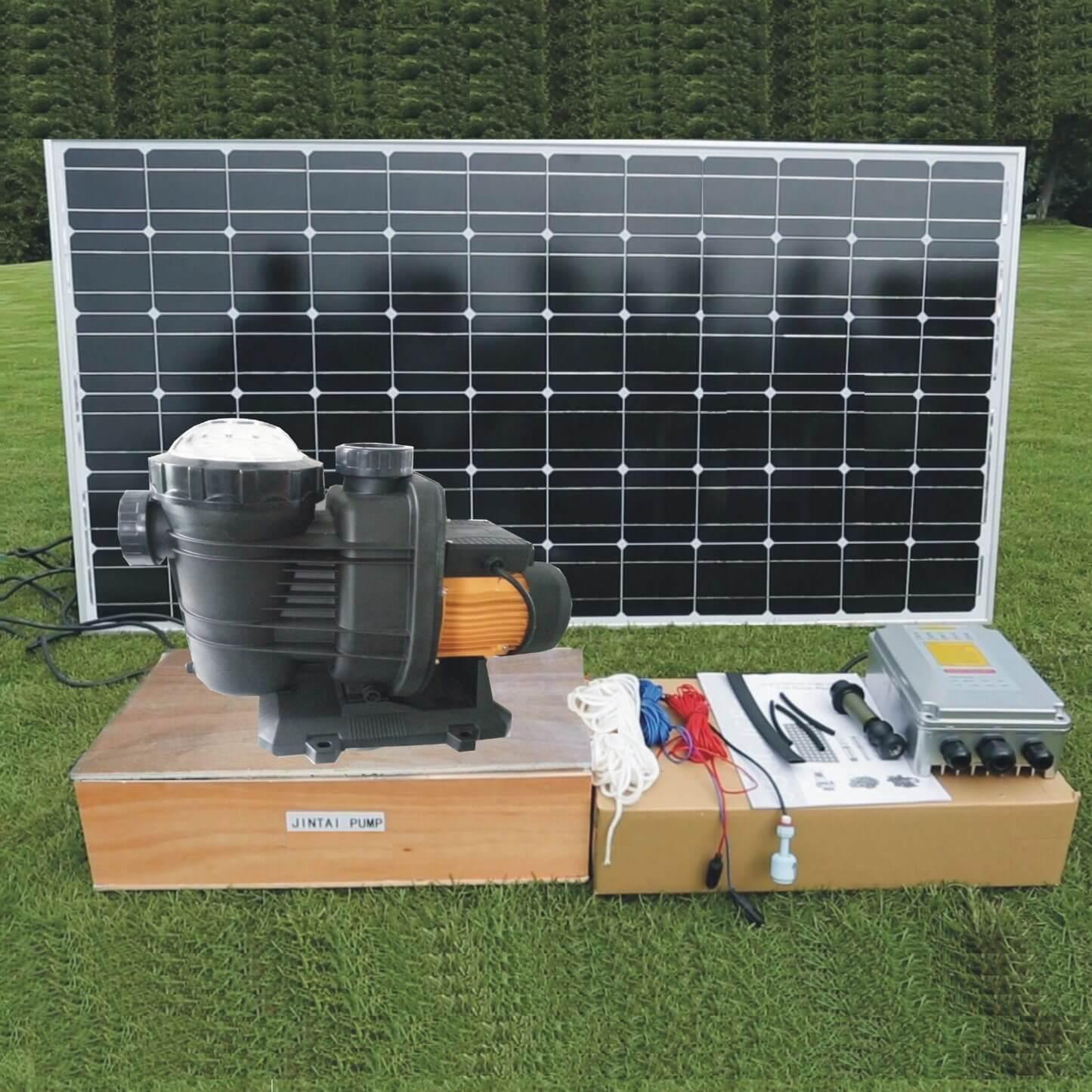 thiết bị lắp đặt hệ thống bom mặt trời